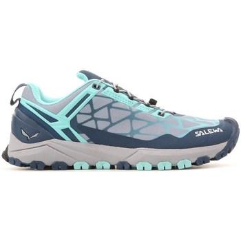 Schuhe Damen Sneaker Low Salewa WS Multi Track Grau,Blau,Hellblau