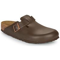 Schuhe Herren Pantoletten / Clogs Birkenstock BOSTON SFB Braun