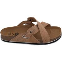 Schuhe Damen Sandalen / Sandaletten Nae Vegan Shoes Paxos Cork Braun