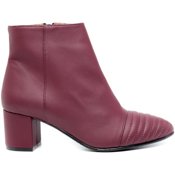 Schuhe Damen Low Boots Nae Vegan Shoes Marta Bordeaux Rot