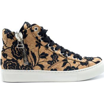 Schuhe Damen Sneaker High Nae Vegan Shoes Milan Cork Braun