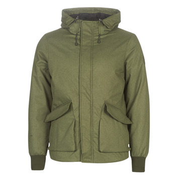 Kleidung Herren Jacken Scotch & Soda SHORT HOODED JACKET WITH INSIDE QUILTING Kaki