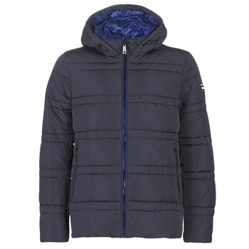 Kleidung Herren Daunenjacken Scotch & Soda CLASSIC HOODED PRIMALOFT JACKET Marine