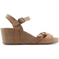 Schuhe Damen Sandalen / Sandaletten Interbios W komfortablen Keil Sandalen OURS