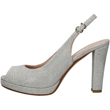 Schuhe Damen Sandalen / Sandaletten Silvana 452 SILVER