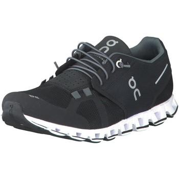 Schuhe Herren Laufschuhe On Sportschuhe CLOUD 19.0000 black & white schwarz
