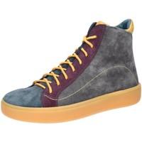 Schuhe Damen Derby-Schuhe & Richelieu Think Schnuerschuhe Gring Schnürboot 585208-1500 grau