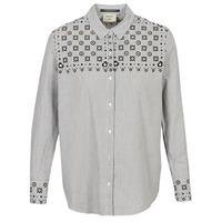 Kleidung Damen Hemden Maison Scotch BUTTON UP SHIRT WITH BANDANA PRINT Grau