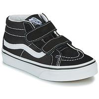 Schuhe Kinder Sneaker High Vans UY SK8-MID REISSUE V Schwarz / Weiss