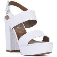Schuhe Damen Sandalen / Sandaletten Priv Lab BIANCO KAIMAN Bianco