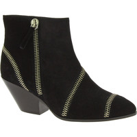Schuhe Damen Low Boots Giuseppe Zanotti I47113 nero