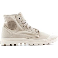 Schuhe Herren Sneaker High Palladium Manufacture Pampa HI Beige