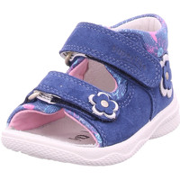 Schuhe Mädchen Sandalen / Sandaletten Superfit - 4-00095-80 blau