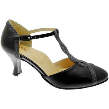 Schuhe Damen Pumps Angela Calzature Ballo SOSO236ne nero