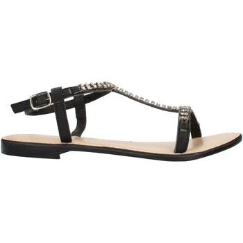 Schuhe Damen Sandalen / Sandaletten Cristin CATRIN13 schwarz