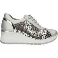 Schuhe Damen Sneaker Low Comart 012930 SILVER