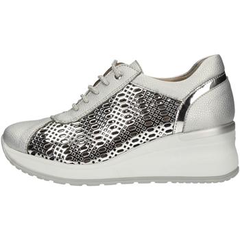 Schuhe Damen Sneaker Low Comart 012930 Silber