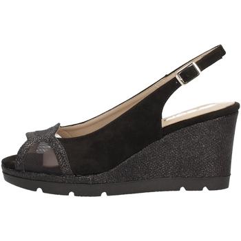 Schuhe Damen Sandalen / Sandaletten Comart 512885 Mit Keil Frau BLACK BLACK