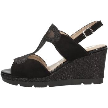 Schuhe Damen Sandalen / Sandaletten Comart 512884 Schwarz