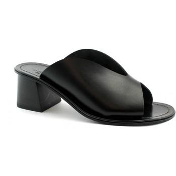 Schuhe Damen Pantoffel Antichi Romani ANT-E19-2008-NE Nero