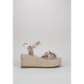 Schuhe Damen Sandalen / Sandaletten Senses & Shoes NEREA Beige