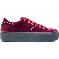 Schuhe Damen Sneaker Low Nae Vegan Shoes Wika Bordeaux Rot