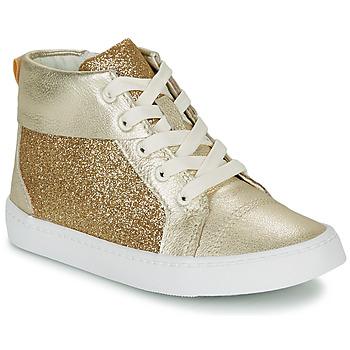 Schuhe Mädchen Sneaker High Clarks CITY OASISHI K Gold