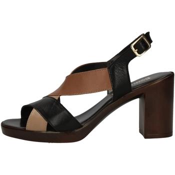 Schuhe Damen Sandalen / Sandaletten Romagnoli B9E7802 BLACK