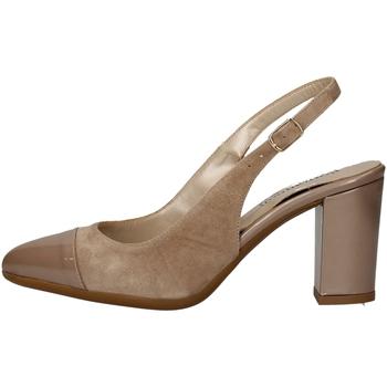 Schuhe Damen Sandalen / Sandaletten Romagnoli B9E1750 BEIGE