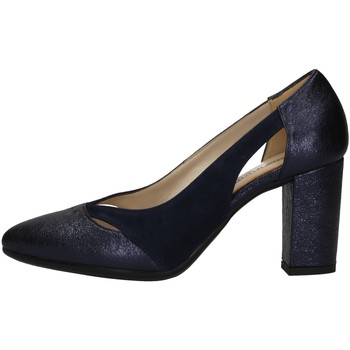 Schuhe Damen Pumps Romagnoli B9E1701 BLUE