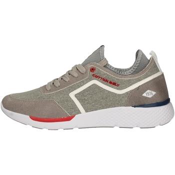 Schuhe Herren Sneaker Low Cotton Belt OK-23 GRAY
