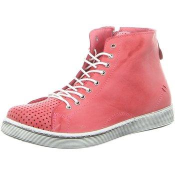 Schuhe Damen Stiefel Andrea Conti Stiefeletten 0345728084 pink