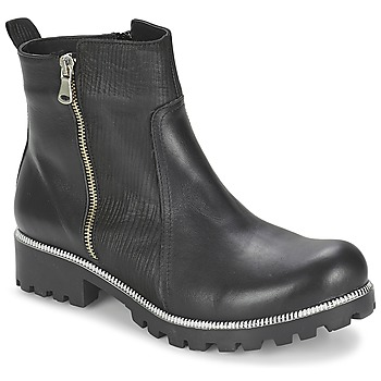 Schuhe Damen Boots Andrea Conti GLIONE Schwarz