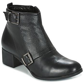 Schuhe Damen Low Boots Andrea Conti CASTEL Schwarz