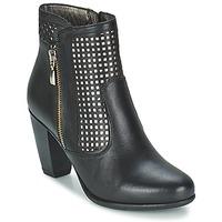 Schuhe Damen Low Boots Andrea Conti SAMPI Schwarz