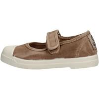Schuhe Mädchen Tennisschuhe Natural World - Scarpa velcro beige 476E-621 BEIGE