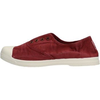 Schuhe Jungen Sneaker Low Natural World - Sneaker bordo' 102E-620 BORDEAUX