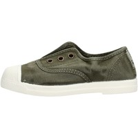 Schuhe Jungen Sneaker Low Natural World - Scarpa elast verde 470E-622