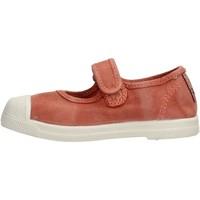 Schuhe Mädchen Tennisschuhe Natural World - Scarpa velcro arancione 476E-618