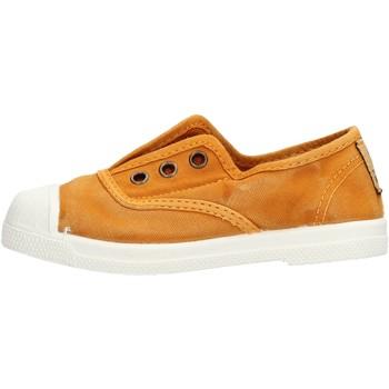 Schuhe Jungen Tennisschuhe Natural World - Scarpa elast senape 470E-646
