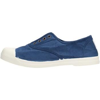 Schuhe Jungen Sneaker Low Natural World - Scarpa lacci blu 102-548