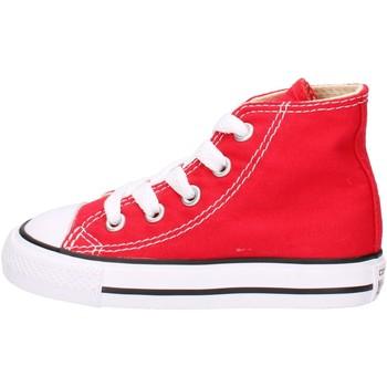 Schuhe Jungen Sneaker High Converse 7J234, Scarpe Sportive Alte Bambini, Rosso ROSSO