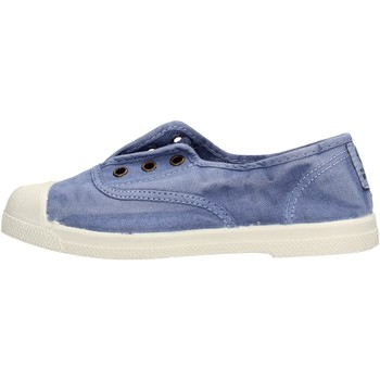 Schuhe Jungen Sneaker Low Natural World - Scarpa elast celeste 470E-690