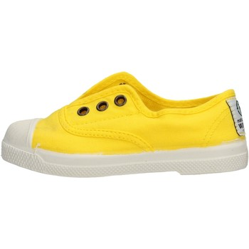 Schuhe Jungen Sneaker Low Natural World - Scarpa lacci giallo 470-504 GIALLO