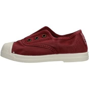 Schuhe Jungen Sneaker Low Natural World - Scarpa elast bordo' 470E-620 BORDEUAX
