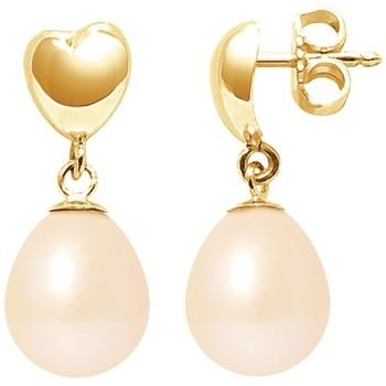 Uhren & Schmuck Damen Ohrringe Blue Pearls BPS K324 W Multicolor