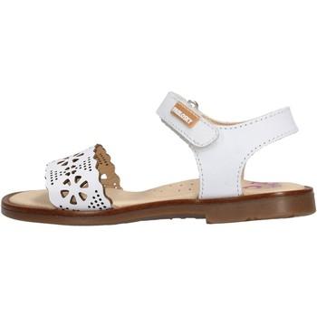 Schuhe Mädchen Sandalen / Sandaletten Pablosky - Sandalo bianco 455800