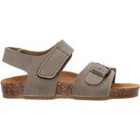 Schuhe Mädchen Sandalen / Sandaletten Gold Star - Sandalo da Bambino Grigio in Pelle 8804