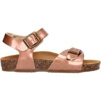 Schuhe Mädchen Sandalen / Sandaletten Gold Star - Sandalo bronzo 8846 ROSA
