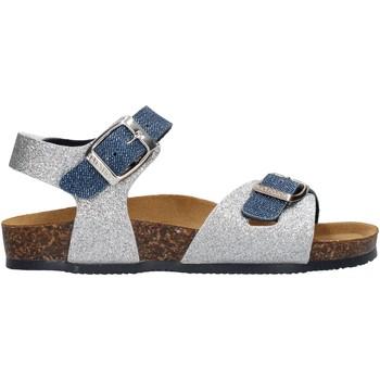 Schuhe Mädchen Sandalen / Sandaletten Gold Star - Sandalo da Bambino Blu in Pelle 8846J